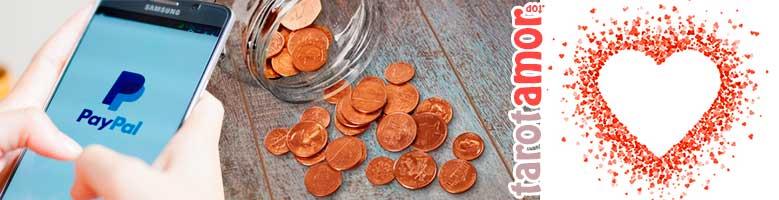 5 pasos para hacer el pago al Tarot Amor PayPal